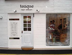 teaque hair atelier